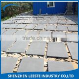Hot sale cheap MOQ 500m2 natural stone grey basalt