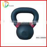 Weightlifting Black Cast Iron Competition Weight Kettlebell