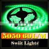 High Quality Waterproof 30/60 LEDs/M 5050SMD Luminous Swimming Pool Dimmable LED Strip Light