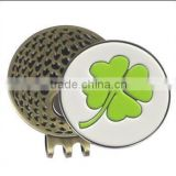Hot sale custom metal golf ball markers/ metal golf ball marker/ soft enamel ball marker/ hard enamel ball marker