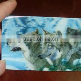3D card business Card Lenticular Card