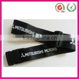 Manufactory 2013 hot selling Fashion 5*180cm black nylon luggage belt