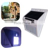 16 leds solar led light for enclosure lighting