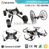 2.4G 4CH quadcopter drone diy with hd camera