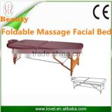 Foldable Hand-held Wooden Base with Face Hole for Sale and Good Price Massage Facial Bed