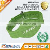 custom made Colorful Waterproof Silicone RFID Bracelets,Cheap Popular Silicone RFID Wristband