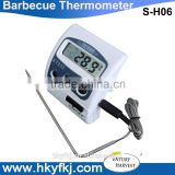 Best food thermometer LCD Display meat thermometer digital bbq temperature gauge (S-H06)