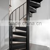 indoor steel support metal spiral stairs/ save space used spiral staircase kits                                                                         Quality Choice