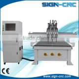 china good quality low price wood door making cnc router cutting / wooden door cnc router machine