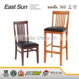Factory price wooden chair restaurant chair solid beech wood chair