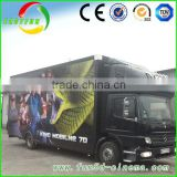 Amusement Park cinema equipment electric 5D cinema /7d cabin of truck mobile cinema best price from manufacturer