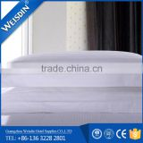 100% cotton white striped wholesale decorative pillow covers for hotel bed linen wholesale