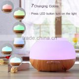 7 color romantic lamp wood grain aromatherapy diffusers aroma                                                                                                         Supplier's Choice
