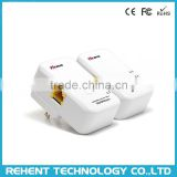 AV200 Mini 200M HomePlug AV Powerline PLC Ethernet Adapter 200Mbps