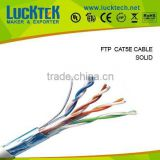 UTP/FTP/SFTP/indoor/outdoor/Copper, CCA Cat5e cable network cable /305m cat5e utp network