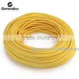 High Quality Cotton Texitle Wire Cotton Cord Wire, Lucifer Yellow Braided Electrical Wire