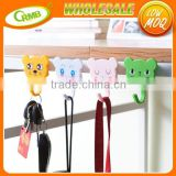 Kitchen Refrigerator Powerful Magnet Microwave Refrigerator Hanging Hook Cute Cartoon Suction Magnetic Hooks Stick Hook
