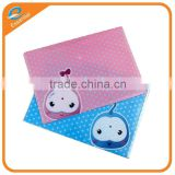 Wholesale custom cute printing PP a4 plastic document envelope file folder with string closure