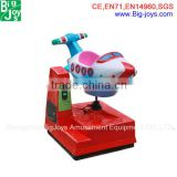 Best price coin operated kiddy ride on toy,kiddie ride airplane, electronic kiddy ride machine
