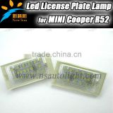 Canbus Led License Plate Lamp For Mini Cooper R50 R52 R53 Auto Car Accessory Back Light Wholesale Price