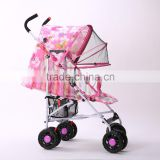 Nets Canopy Two Adjustable Baby Umbrella Stroller/Baby Pram/Baby Carriage/Baby Pushchair