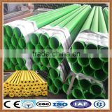 Flexible black plastic water pipe roll/plastic pipe end caps/plastic pipe alibaba express