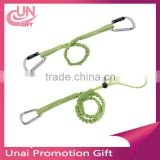 High quality custom tool lanyard, flexible tool safety lanyards with carabiner