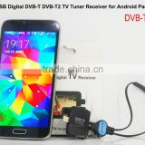 Car DVB T2 Digital TV Receiver DVB-T2S Micro USB Digital DVB-T DVB-T2 TV Tuner Receiver For Android Pad