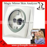 2016 NEWEST! Multi-language Magic Mirror 3D Skin Analyzer for English Chinese Spanish Russian version BD-P027