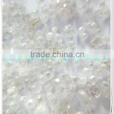 A011 High quality size less than 1.4mm/Uncut HPHT Rough White Diamond /CVD Synthetic Diamond