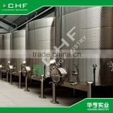 Wine tanks and fermenter for fermentation and storage of wine and other alimentary liquids