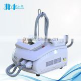2016 Hot Sale 2 handles Portable IPL for Dark Circles and face lift elight laser equipment