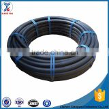 Black plastic hdpe water pipe roll