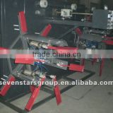 twin stations plastic winding machine
