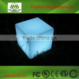 waterproof led cube chair lighting/led outdoor cube/led furniture
