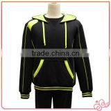 Hot Selling Promotion Cheap Bulk Wholesale Men Fleece Hoody Tracksuit Sportswear Sets Pullover Custom Logo