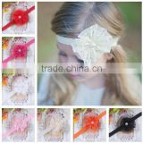 Stock wholesale Lace Headband hairband Baby Girls flowers headbands With Elastic Kids' hair accessories Baby Headwear