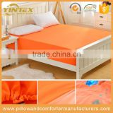 Waterproof bed pad fitted bamboo fibre 100% cotton bedspread waterproof bed sheets changing mat