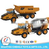 China manufacture pull back model diecast truck