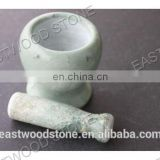 Nature stone mortar and pestle TM-003