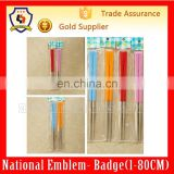 Stainless steel color plastic handle chopsticks ,chopsticks and good quality tableware pairs(HH-chopsticks-001H)