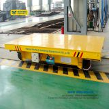 workshop Rail Transporter Pallet Transfer Cart with DC Power