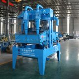 Dewatering type sand recycling system