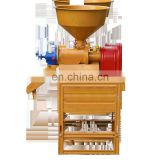 Complete rice mill price Small Model Mini Home Use Multi-functional Portable Rice Mill For Sale