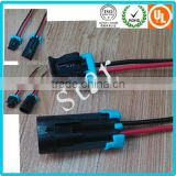 China Factory Delphi 2 pin Auto Connector Replacement Waterproof male female Connector With Wires