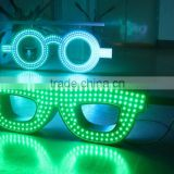 ali hot sell electronics waterproof high bright neon led optical glasses sign, optician led flashing light
