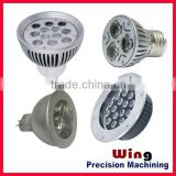 customized die casting CUP shape fluorescent lamp with plug clips                                                                         Quality Choice