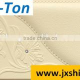Natural Material Wallpapers Wallpapers Type and Classic Style leather wallpaper shop sign 3d wall panel