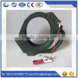 Free sample galvanized snap clamp -concrete pump rubber hose clamp
