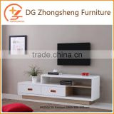 Modern Chinese Style Home Decorative Wooden TV Cabinet With Showcase